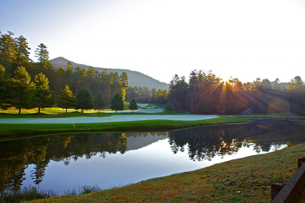 Wade Hampton Golf Club in Cashiers, NC