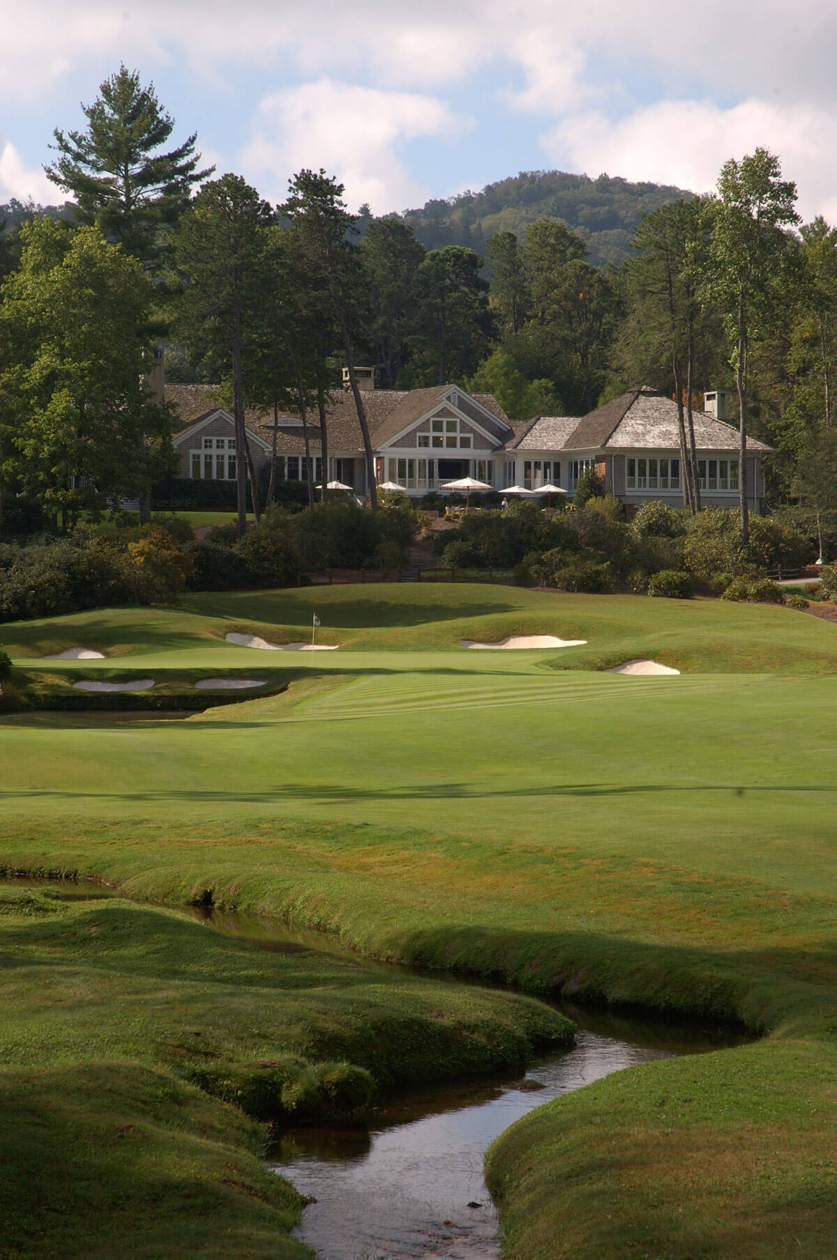 Wade Hampton Golf Course 18th hole