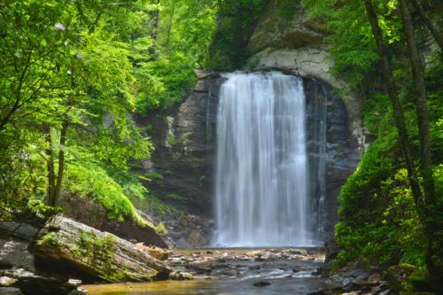 Waterfalls Near Cashiers, NC